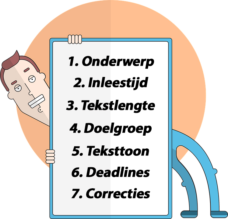 Briefing Copywriting Opdracht Informatie